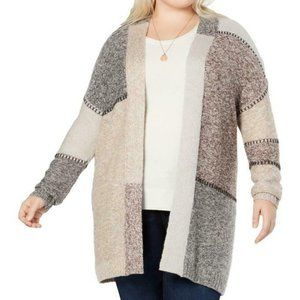 Style & Co Duster Long Cardigan Sweater 3X